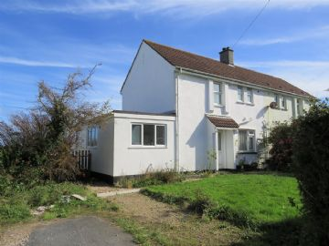 Semi Detached House for sale in St Ives: Porthia Road, St Ives, Cornwall.  TR26 2JB, £200,000