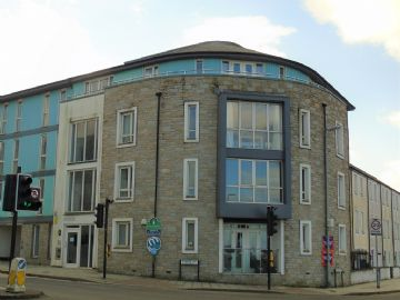 Flat for sale in Camborne: Vyvyan House, Kerrier Way, Camborne, Cornwall.  TR14 8FJ, £110,000