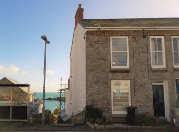 Semi Detached House for sale in Mousehole: The Parade, Mousehole, Penzance, Cornwall.  TR19 6PP, £350,000