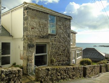 Semi Detached House for sale in Mousehole: The Loft, 14 The Parade, Mousehole, Penzance, Cornwall TR19 6PP, £375,000