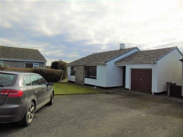 Detached Bungalow for sale in St Buryan: Trelyon Close, St Buryan, Penzance, Cornwall TR19 6BU, £265,000