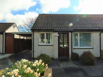 Semi Detached Bungalow for sale in Penzance: Tremaine Close, Heamoor, Penzance, Cornwall.  TR18 3QS, £160,000