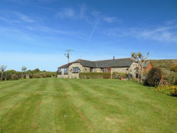 Detached Bungalow, Barn Conversion, Holiday Home for sale in St Buryan: Crows-an-Wra, St Buryan, TR19 6HU, £325,000