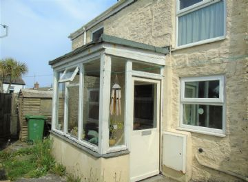 Semi Detached House for sale in St Just: Cape Cornwall Street, St Just, Penzance, Cornwall TR19 7JZ, £150,000