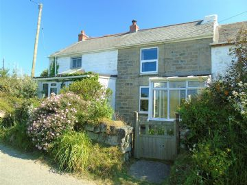Terraced for sale in Ludgvan: Bowglas Cottages, Castle Road, Ludgvan, Penzance, Cornwall TR20 8HF, £220,000