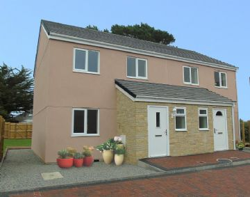 Semi Detached House for sale in Penzance: Strawberry Fields, Crowlas, Penzance, Cornwall.  TR20 8BH, £220,000