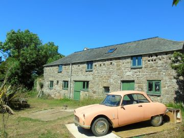 Detached House, Barn Conversion for sale in St Buryan: Boskennal, St Buryan, Penzance, Cornwall TR19 6DF, £450,000