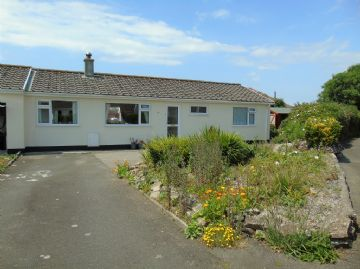 Semi Detached Bungalow for sale in St Buryan: Chyventon Close, St Buryan, Penzance, Cornwall TR19 6BT, £260,000