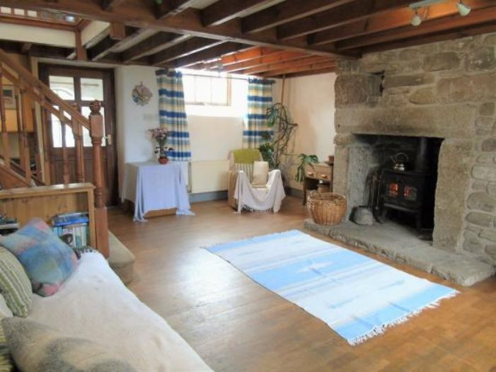 Detached House, Land, 3 bedroom Property for sale in Pendeen, Cornwall for £420,000, view photo 6.