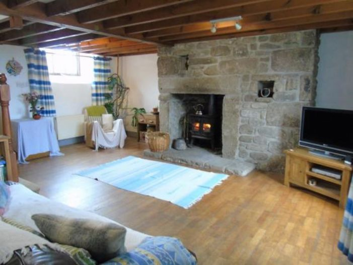 Detached House, Land, 3 bedroom Property for sale in Pendeen, Cornwall for £420,000, view photo 7.
