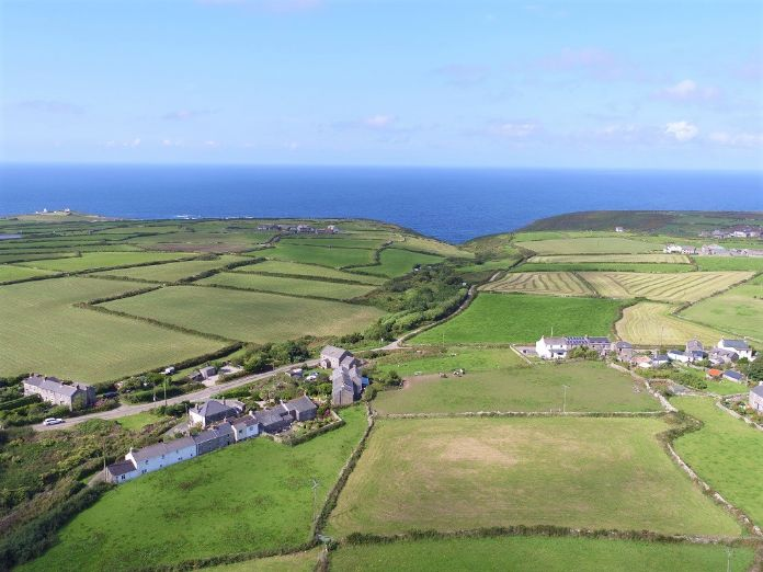 Detached House, Land, 3 bedroom Property for sale in Pendeen, Cornwall for £395,000, view photo 21.
