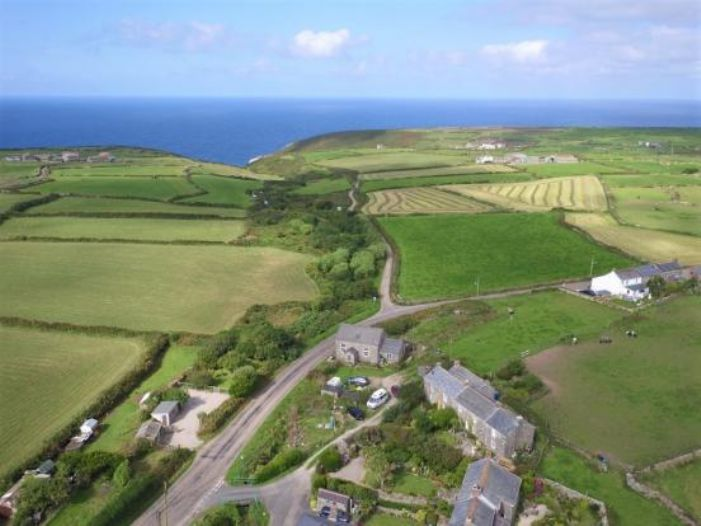 Detached House, Land, 3 bedroom Property for sale in Pendeen, Cornwall for £395,000, view photo 32.