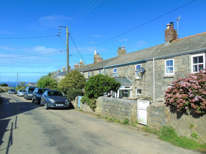 Terraced, House, 3 bedroom Property for sale in Pendeen, Cornwall for £190,000, view photo 1.