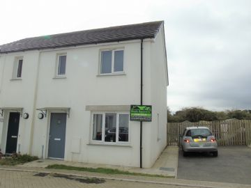 Semi Detached House for sale in Carbis Bay: Teyla Tor Road, Carbis Bay, St Ives, Cornwall TR26 2FP, £180,000