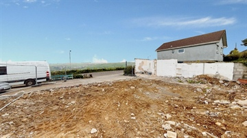 Land for sale in St Just: Plot 1, Carn Bosavern Garage, Carn Bosavern, St Just, Penzance, Cornwall TR19 7QX, £120,000