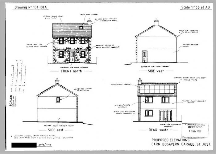 Land Property for sale in St Just, Cornwall for £120,000, view photo 7.