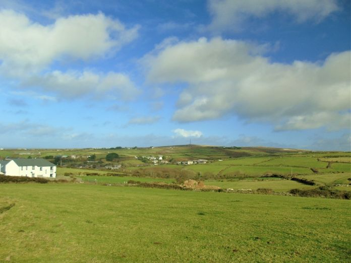 Land, 3 bedroom Property for sale in St Just, Cornwall for £120,000, view photo 5.