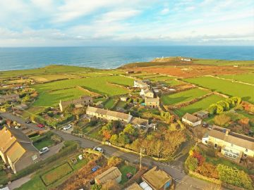 Land for sale in Pendeen: Building Plot Boscaswell Village, Pendeen, Penzance, Cornwall TR19 7EP, £75,000