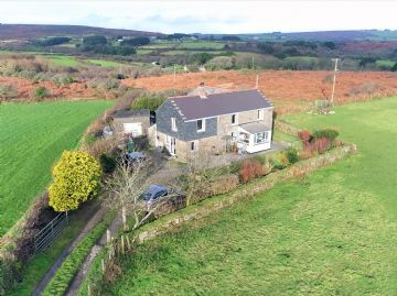 Detached House, House for sale in Penzance: Trythall, Newmill, TR20 8YA, £480,000