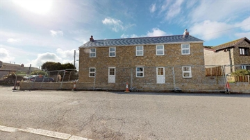 Semi Detached House for sale in Pendeen: Lilykins, Boscaswell Downs, Pendeen, Penzance, Cornwall, TR19 7DT, £210,000