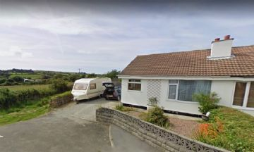 Semi Detached Bungalow for sale in Redruth: Chyrose Road, St. Day, Redruth, Cornwall TR16 5LX, £200,000