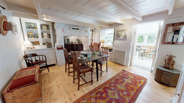 End of Terrace, House, 2 bedroom Property for sale in Lamorna, Cornwall for £375,000, view photo 12.