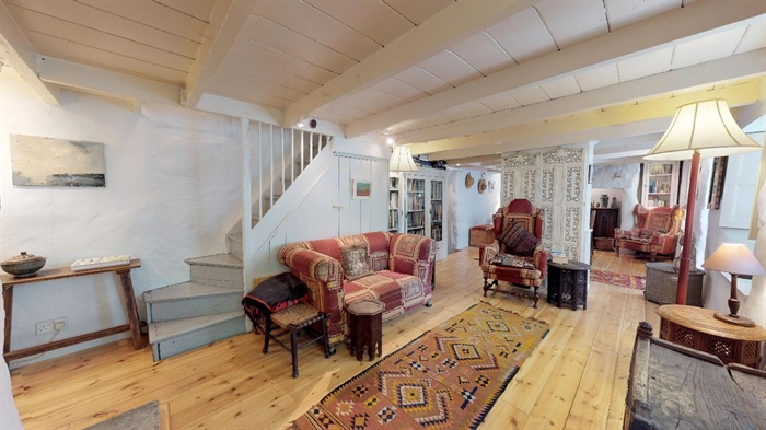 End of Terrace, House, 2 bedroom Property for sale in Lamorna, Cornwall for £375,000, view photo 14.