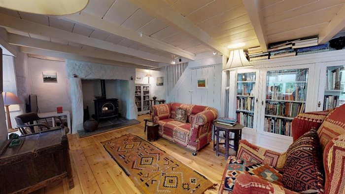 End of Terrace, House, 2 bedroom Property for sale in Lamorna, Cornwall for £375,000, view photo 15.