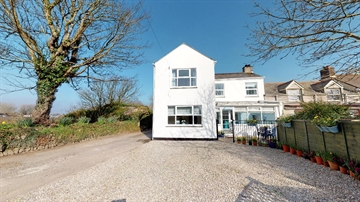 End of Terrace, House for sale in Rosudgeon: Helston Road, Rosudgeon, Penzance, Cornwall, £240,000