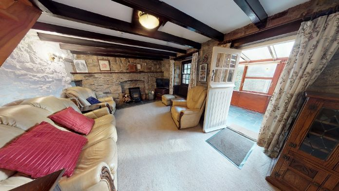 End of Terrace, House, 4 bedroom Property for sale in Rosudgeon, Cornwall for £325,000, view photo 5.