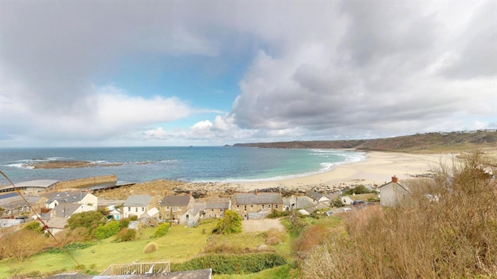 Detached Bungalow, 3 bedroom Property for sale in Sennen Cove, Cornwall for £525,000, view photo 1.