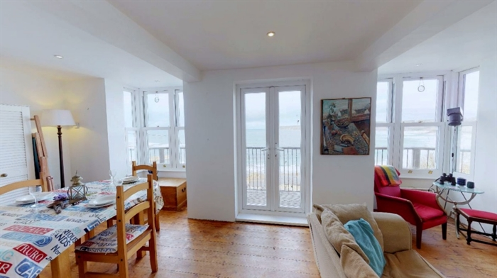 Detached Bungalow, 3 bedroom Property for sale in Sennen Cove, Cornwall for £525,000, view photo 6.