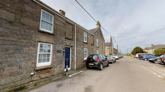 Terraced, House, 3 bedroom Property for sale in St Just, Cornwall for £200,000, view photo 1.