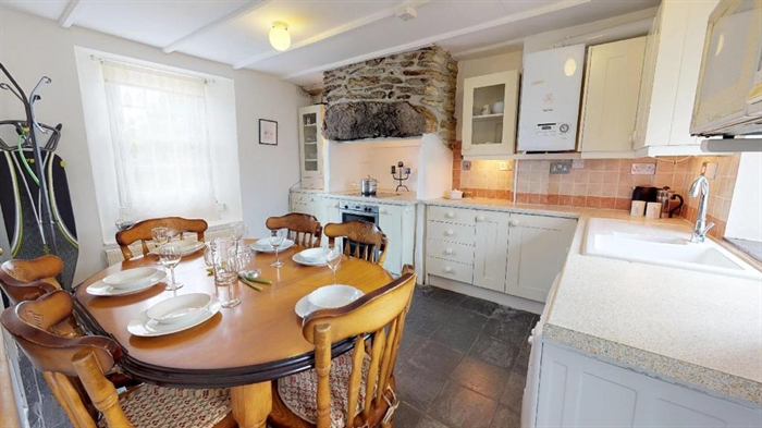 Terraced, House, 3 bedroom Property for sale in St Just, Cornwall for £200,000, view photo 8.