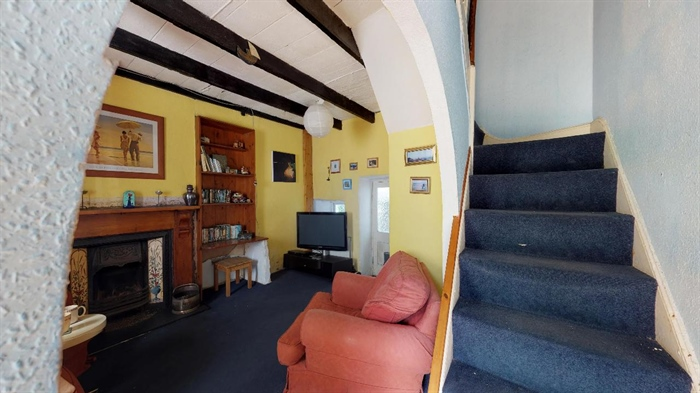 Semi Detached House, 2 bedroom Property for sale in St Just, Cornwall for £165,000, view photo 4.