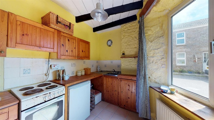Semi Detached House, 2 bedroom Property for sale in St Just, Cornwall for £165,000, view photo 8.