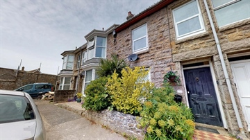 Terraced, House for sale in Heamoor: Richmond Street, Heamoor, Penzance, TR18 3ET, £200,000