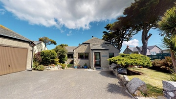 Detached Bungalow for sale in St Just: Carn Bosavern, ST JUST, TR19 7QX, £400,000