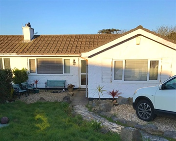Semi Detached Bungalow for sale in Carbis Bay: Menhyr Drive, Carbis Bay, St. Ives, Cornwall, TR26 2QR, £350,000
